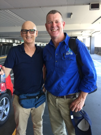 Ian Herbert arrives in Melbourne to check out some machinery