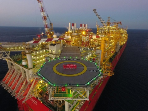 The massive Prelude FLNG project is anchored 300kms north of Broome in the Browse basin