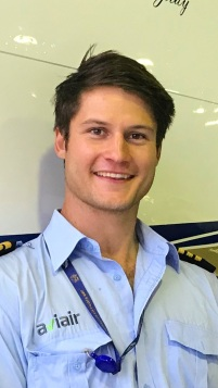 Lance Wolfe from our Aviair Team in Karratha was in town for training